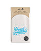 "Pack of 12 white glassine treat bags with ""Happy Birthday!"" in blue cursive."