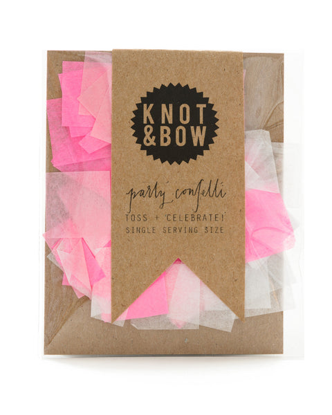 Single Serving Confetti Pink