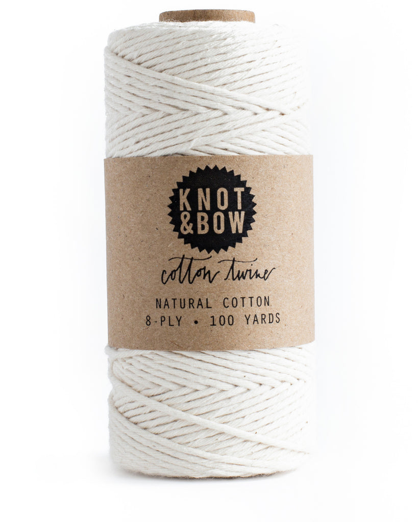 Knot & Bow Cotton Twine Natural