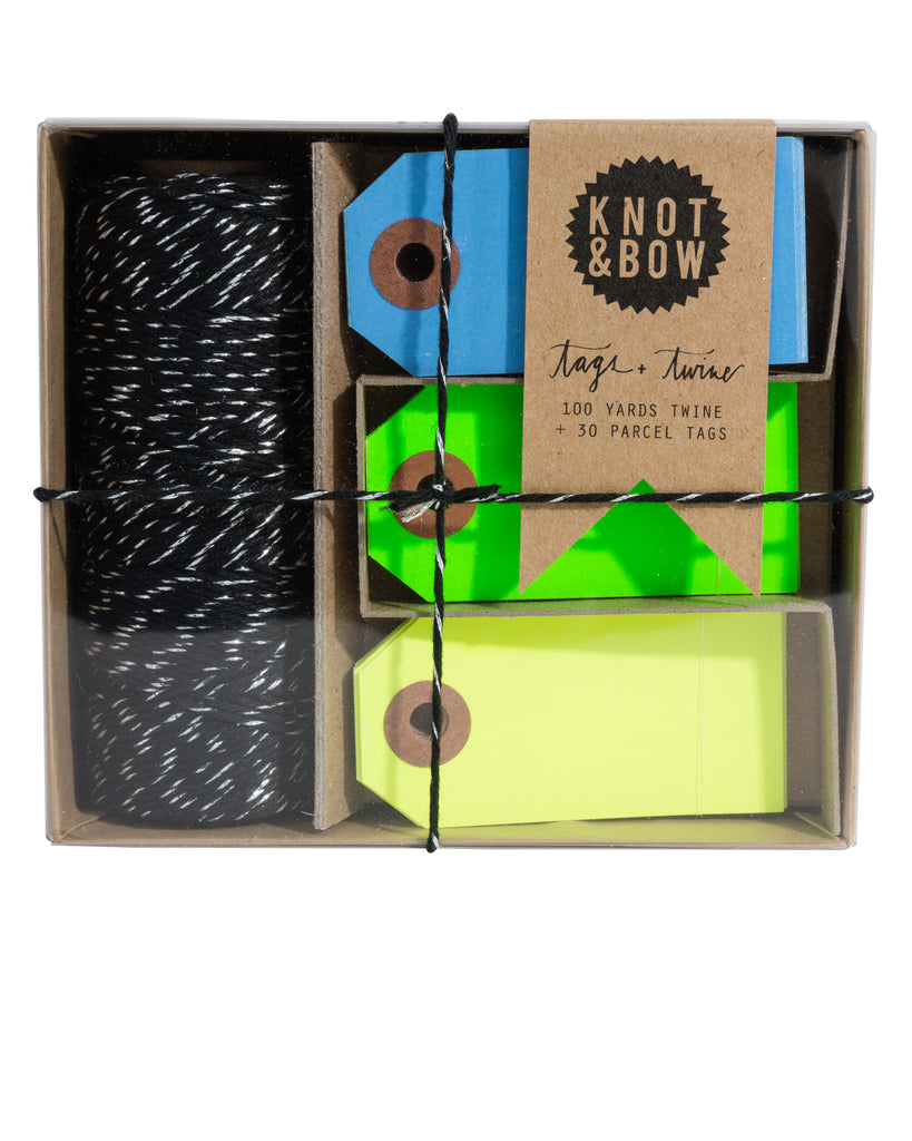 Tag and Twine Box
