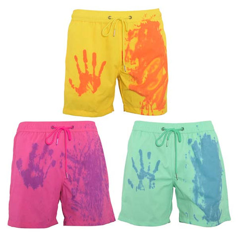 Men's Switchs Color Changing Swim Trunks