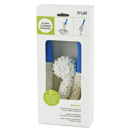 True Cleanse Reusable Glassware Brushes