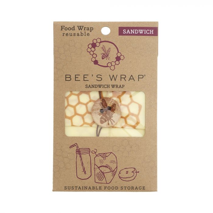 Bee's Wrap Lunch Pack Set of 3 - Honeycomb