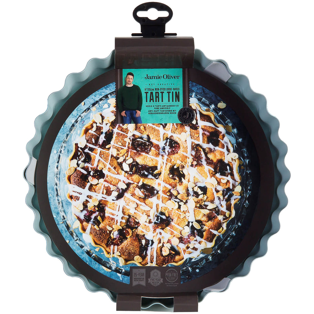 Load image into Gallery viewer, Jamie Oliver Tart Tin 10""