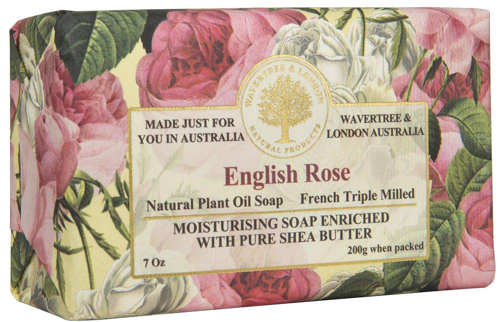 Load image into Gallery viewer, Wavertree & London English Rose Soap
