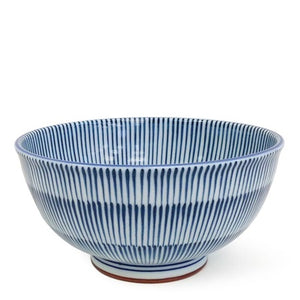 Load image into Gallery viewer, Hoso Tokusa Blue Bowl - 6.25""