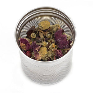 True Blair Floral Glass Tea Infuser by Pinky Up