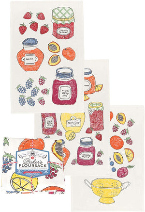 Load image into Gallery viewer, Baker's Floursack Jam - Set of 3