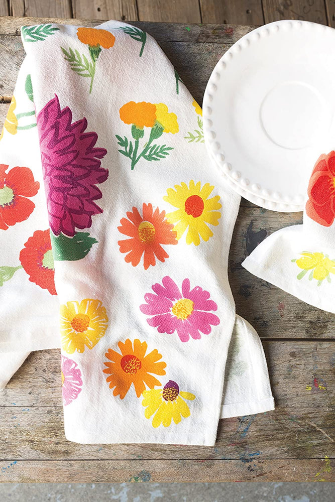 Load image into Gallery viewer, Baker's Floursack Flower - Set of 3