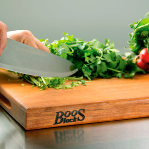 John Boos Cutting Board with Finger Grip - Cherry