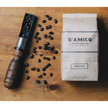Load image into Gallery viewer, D'Amico Dark Roast Red Hook Whole Beans - 1LB