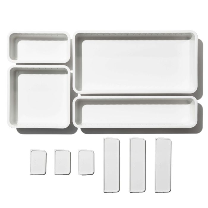 OXO Adjustable Drawer Bin Set