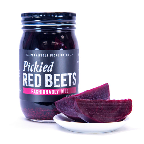 Pernicious Pickles Pickled Red Beets: Fashionably Dill