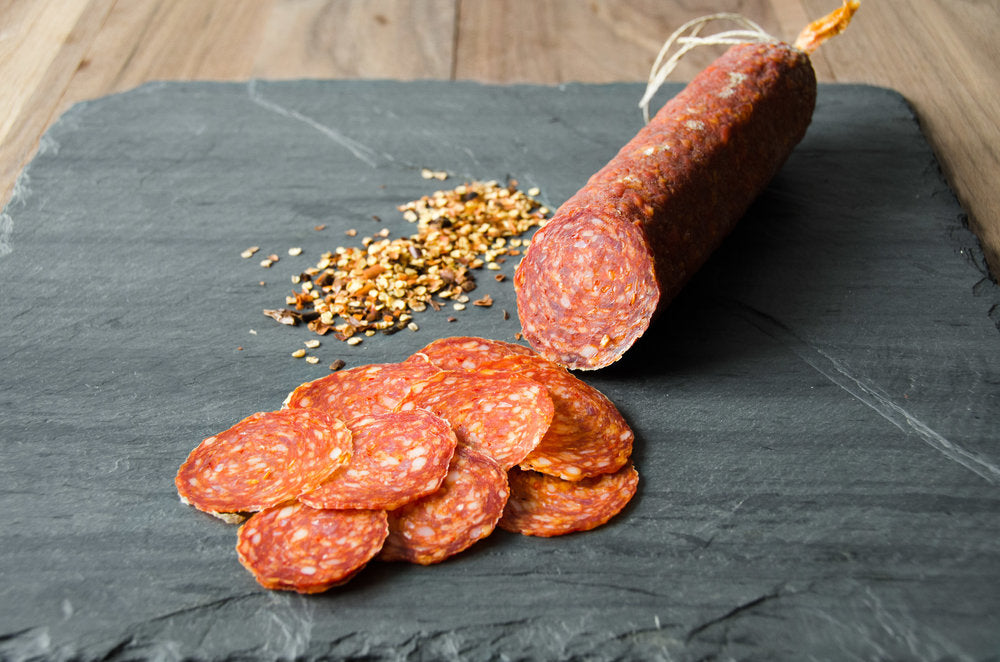 Load image into Gallery viewer, Casella's Soppressata Piccante - 8oz