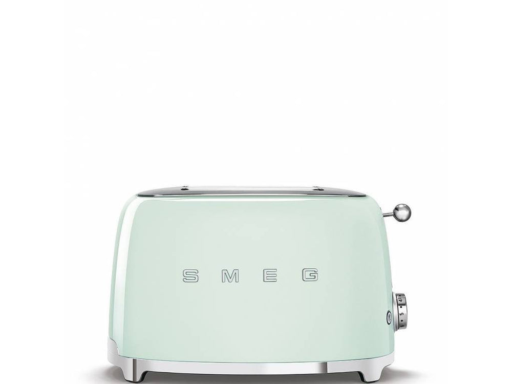 Load image into Gallery viewer, Mint Green Smeg Toaster at The Kitchen Nashville