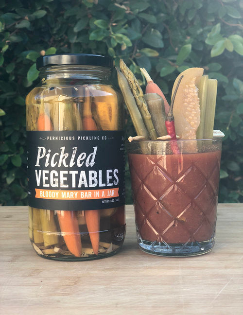 Pernicious Pickles Pickled Vegetables : Bloody Mary Bar in a Jar