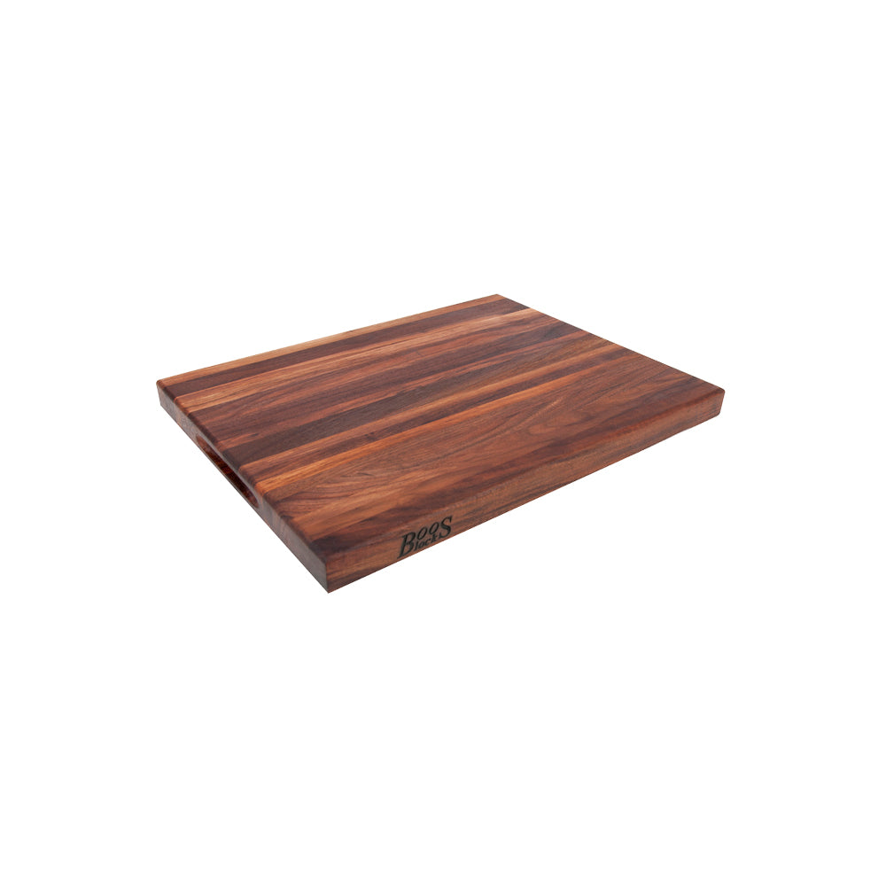 Load image into Gallery viewer, John Boos Cutting Board With Finger Grip - Walnut