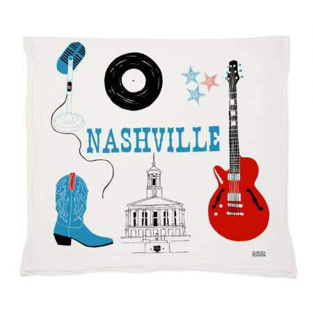 Load image into Gallery viewer, Claudia Pearson Nashville Tea Towel