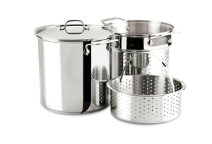 Load image into Gallery viewer, All Clad Multi Pot Pasta & Steamer Insert
