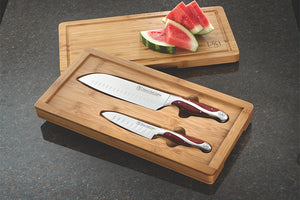 Hammer Stahl 2 Piece Bamboo Case Set