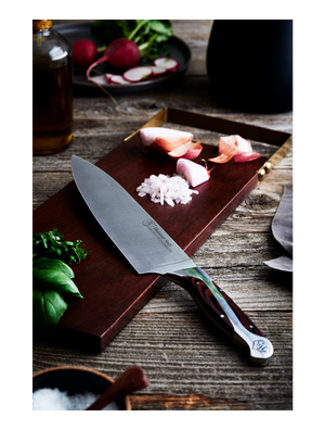 "Load image into Gallery viewer, Hammer Stahl 8"" Chef's Knife"