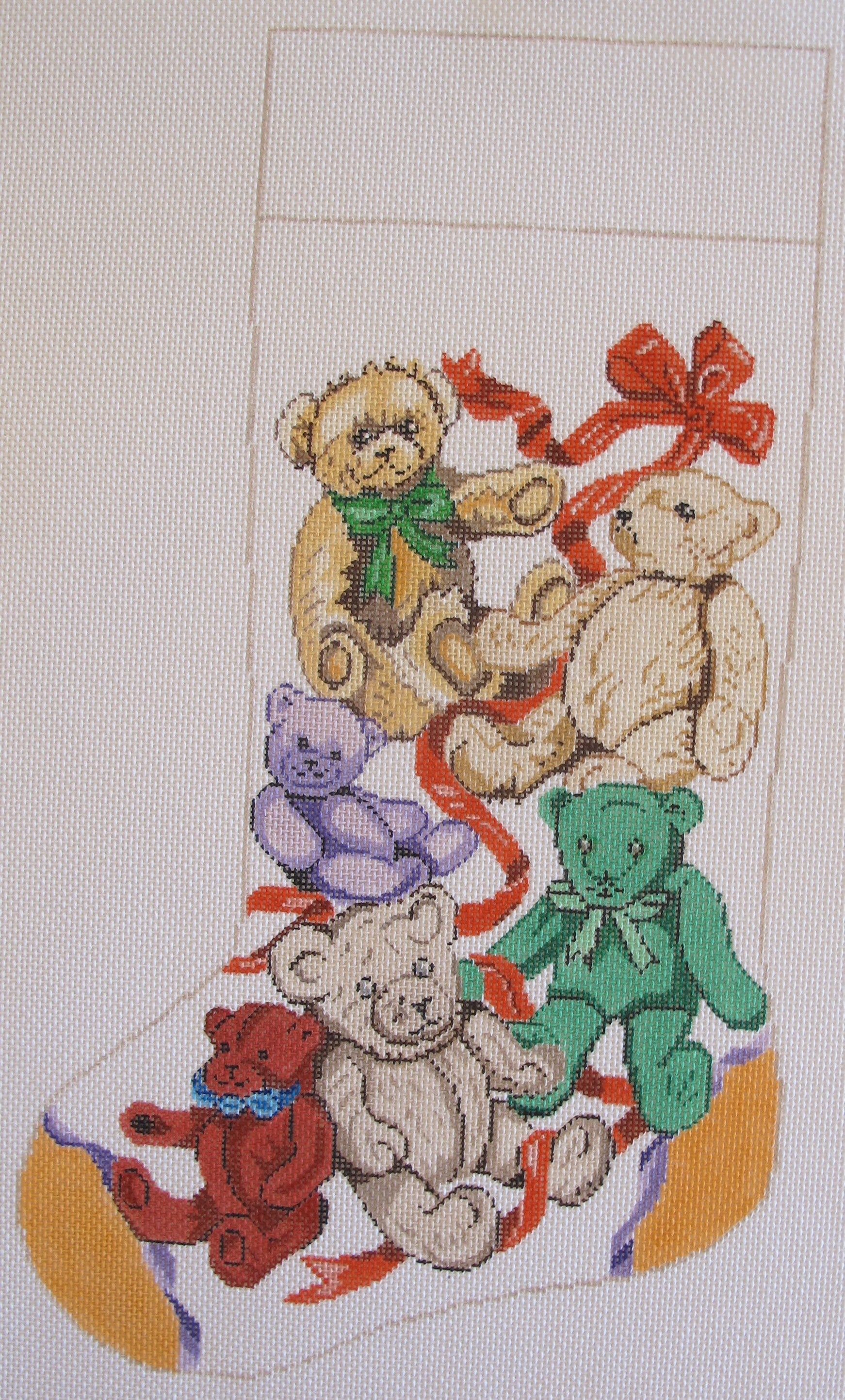 Teddy Bears Stocking