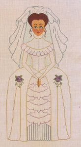 Victorian Bride w/ stitch guide