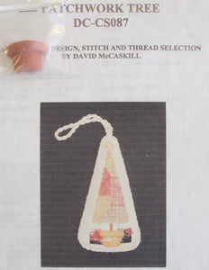 Patchwork Tree Ornament w/Stitch Guide