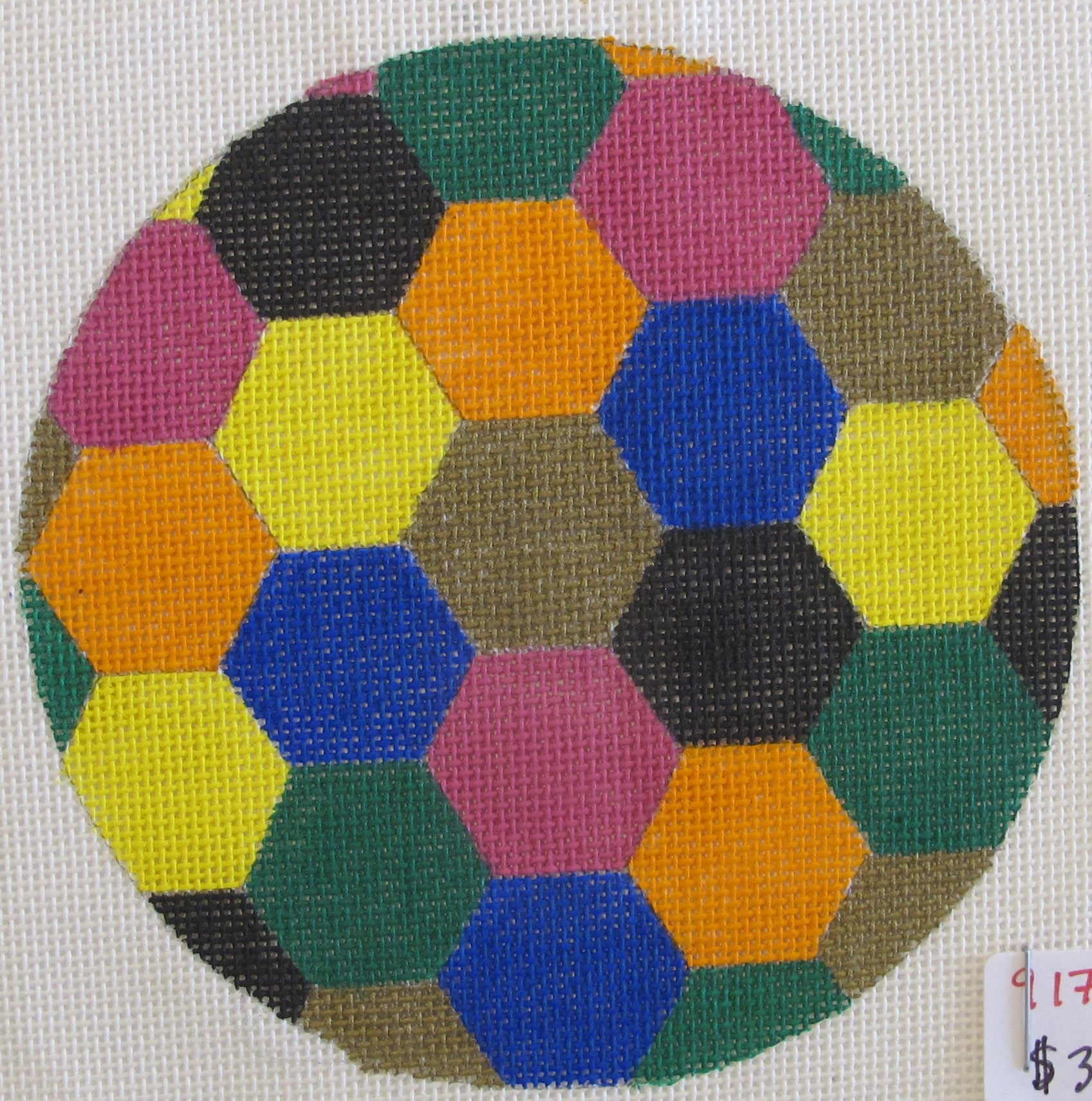 Hexagons Ornament