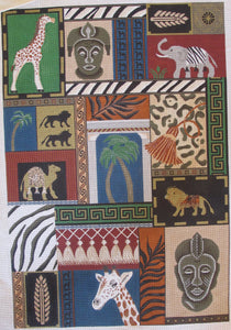 African Quilt Rug
