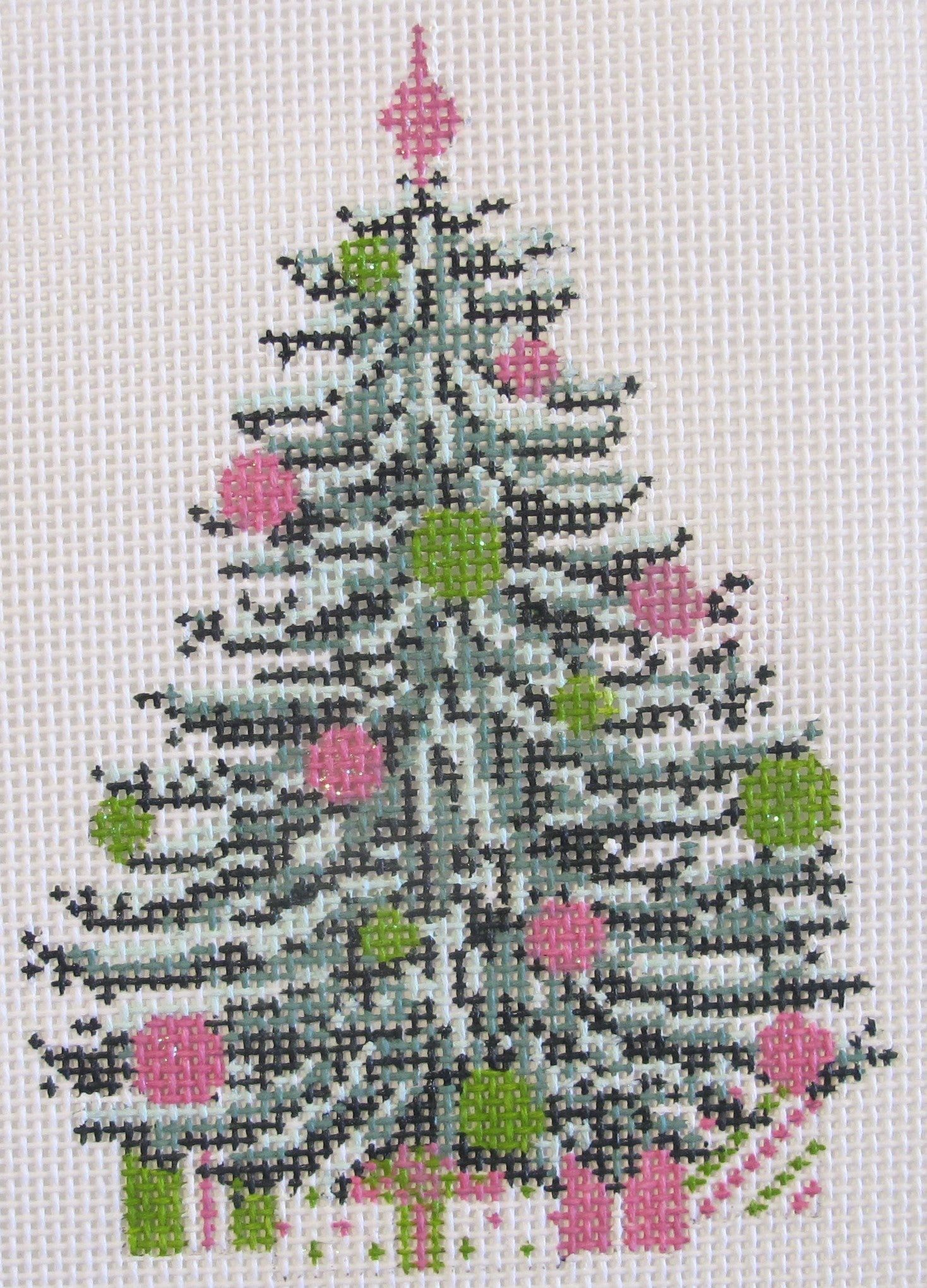 Pink & Green Tree