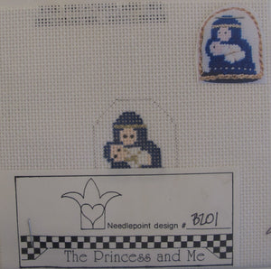 Mary and Jesus w/Stitch Guide