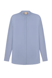 Light blu blouse