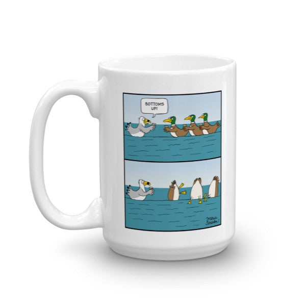 Bottoms Up Duck Mug