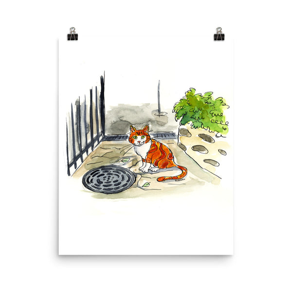 Paris Cat Print