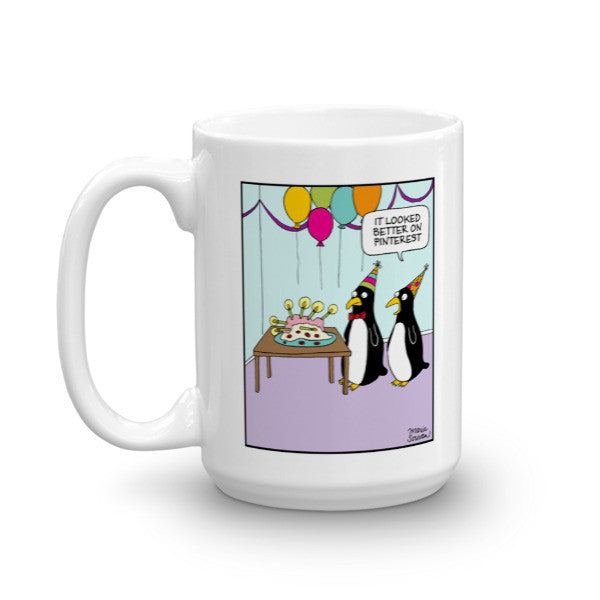 Pinterest Fail Penguins Mug