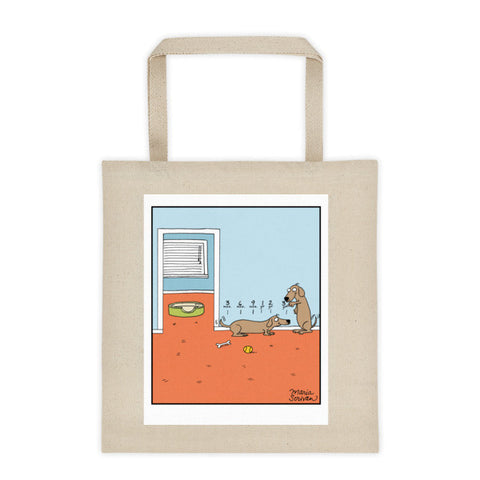 Dachshund Growth Chart Tote Bag