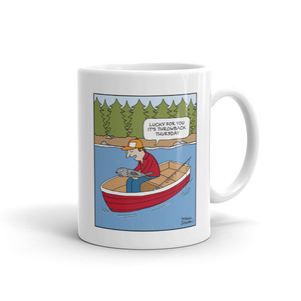 Throwback Thursday Fishing Mug
