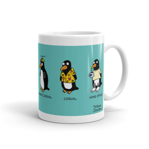 Penguin Dress Code Mug