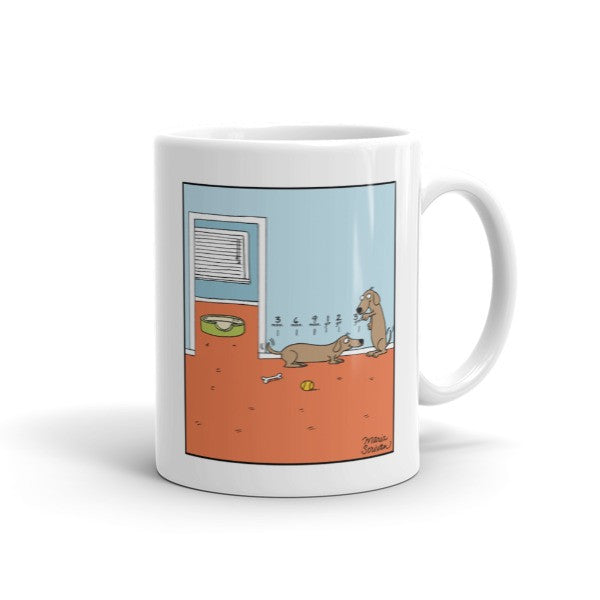 Dachshund Growth Chart Mug