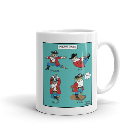 Pirate Yoga Mug