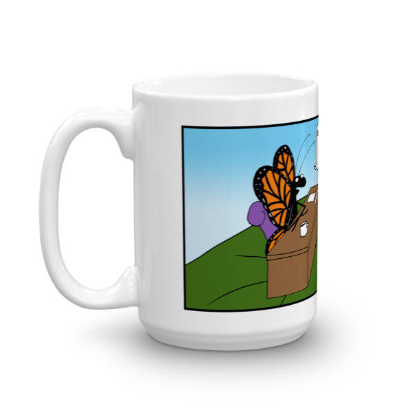 Where Do You See Yourself Butterfly Mug