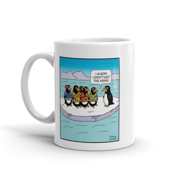 Penguin Hawaiian Shirt Mug
