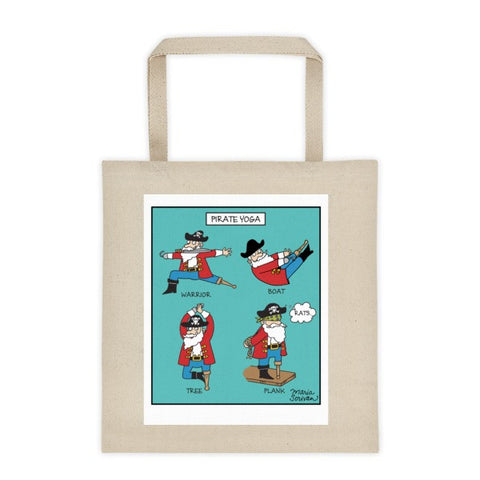 Pirate Yoga Tote Bag
