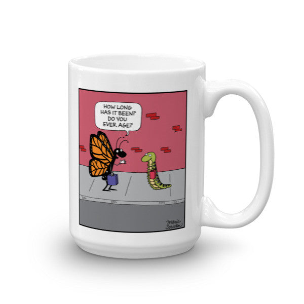 Do You Ever Age Butterfly Mug