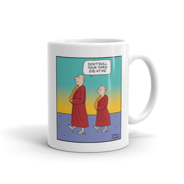 Meditation Monks Mug