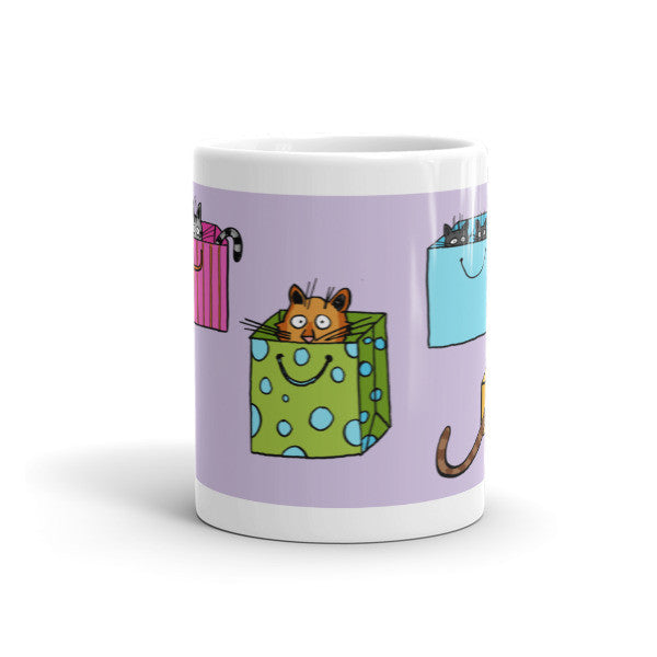 Cat Out of the Bag Mug