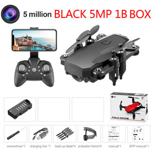 Mini Drone LF606 4K HD Camera Foldable Quadcopter One-Key Return FPV Drones Follow Me RC Helicopter Quadrocopter Kid's Toys