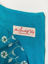 Load image into Gallery viewer, Vintage 50's Embroidered Wiggle Dress