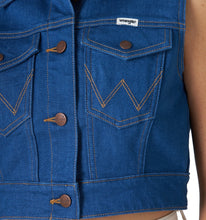 Load image into Gallery viewer, Wrangler Denim Vest